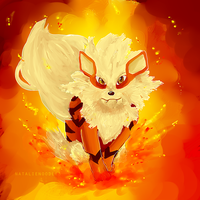 Arcanine Stance by narukachan