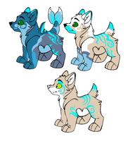 Pups for Safegaurd by wolf-wishes