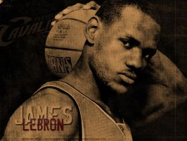Lebron James by UEF-Q