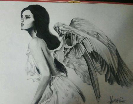 Angel Portrait by RukyStyle25