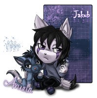 Jakub and Abba by AngelSoleil21