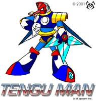 Tengu Man by MalamiteLtd