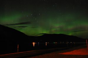 Northern Lights3 - Salmon Arm by EvanHodsonGallery