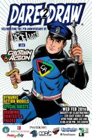 Dare2Draw: Captain Action and ACT-I-VATE, Feb 20 by Dare2Draw
