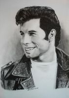 Danny Zuko by WitchiArt