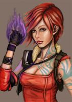 Lilith  of Borderlands 2 by Nahkuman