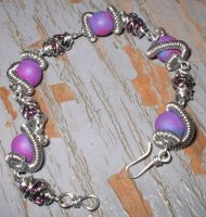 Wire Wrapped Bracelet by immortaldesigns
