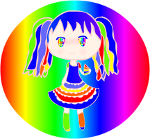 Rainbow-Chan by Bashful-Bubbles