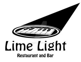 Limelight Logo Black and White by Bezmo