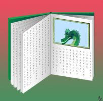 Dragon book - open by Ajna357