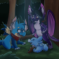 Story Collab: Part 2- A Wyngling In Need by 88Aurora88