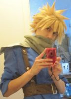Cloud Strife by kajun36