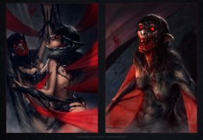 Bloodsports 14: Beastmasters - Lady Crimson by MoonSkinned