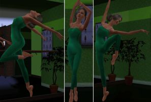 Melaine Balett by TheSims3Pets