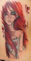 Torn Tattoo by JessicaCanvas