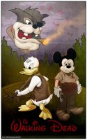 The Walking Disney by GraphicGeek