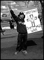 Christians Don't Wage War by digitalgrace