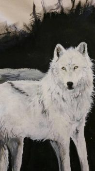 white wolf by sonianad