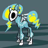 Death Pony electro by misa-acar