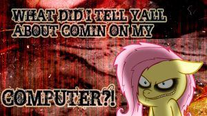 Fluttershy shed wallpaper by ALoopyDuck