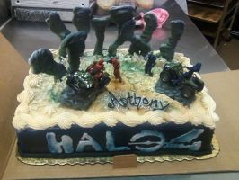 Halo 4 by TCCakes