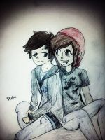 ImmortalHD and Darrian by Captain-SassyButt