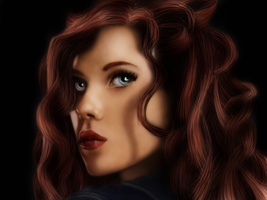 The Black Widow by GingerLilys
