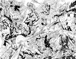 GREEN LANTERN NEW GUARDIANS 11 PG.8 AND 9 by BATTinks