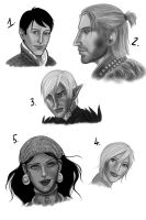Dragon Age 2 dump by Silieth