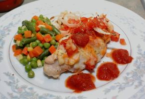 Salsa Baked Chicken by sweetcivic