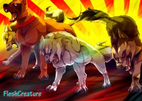 Silver Fang -The Will Of Fire- Speedpaint. by FleshCreature