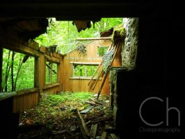 Rundown Cabin 1 by Champineography