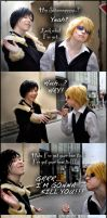 Durarara: Bowties are cool by AbstractNightmare