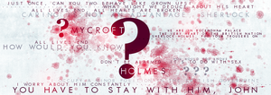 BBC Sherlock Mycroft Quotes Banner by Holophrasic