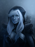 Drow Ranger by ArtOfhKm