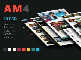 AM4 - Free PSD by xSemy
