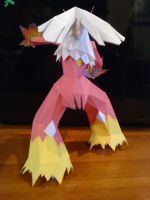 Papercraft Blaziken by Prife7