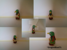 Polymer Clay Pokemon - Xatu by DragonBlast71