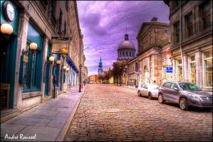 Old Montreal 2 HDR by bellocqa