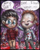 Chibi Hannibal - I don't want to see by FuriarossaAndMimma