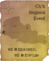Map Ch'ti Regional Event by smallbean