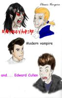 Vampire comparison by Bittergeuse