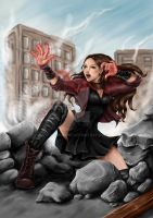 Scarlet Witch - The Avengers by Nayruyami