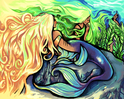 Mermaids by ForeverSoaring