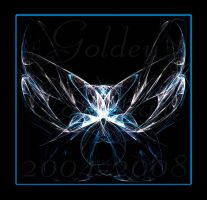 Crystal Butterfly by Goldey--Too