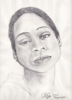 Bessie Smith by ScreamAndSugarArt