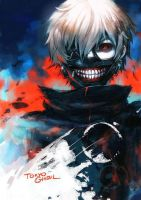 Might be able to Cosplay kaneki Ken  by bloodyangelxoxo