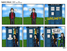 TARDIS PWNage by Girl-on-the-Moon
