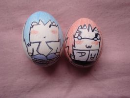 Random SasuKarin Eggs xD by sp129girl