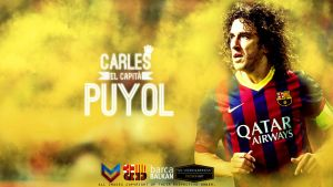 Carles Puyol Wallpaper by SelvedinFCB